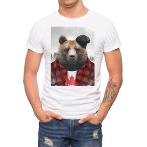 Jack of All Trades Canadian Grizzly Cotton T-Shirt